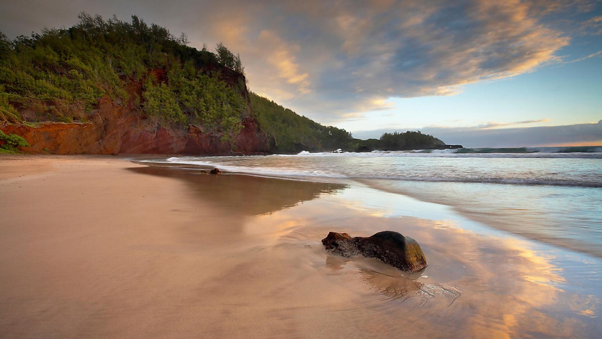 Пляж, природа. Обои для рабочего стола