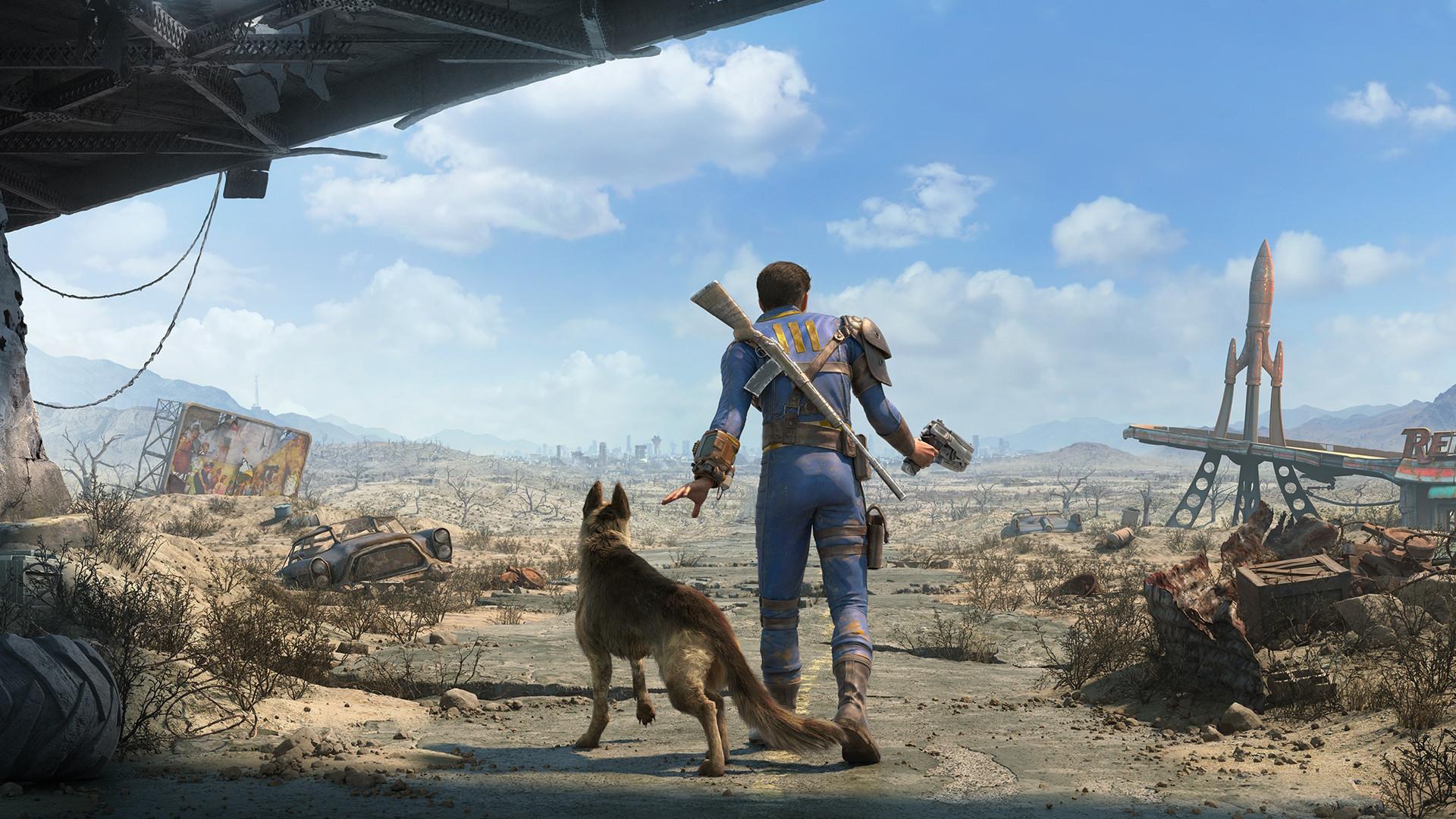 Обои для рабочего стола, Fallout 4, разрешение 1920x1080