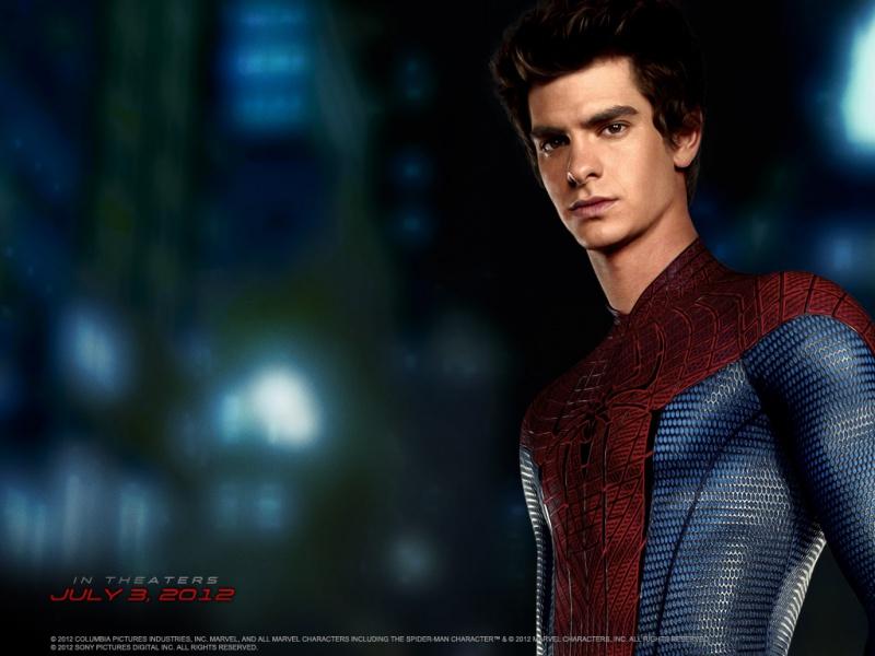 Обои к фильму Новый человек паук