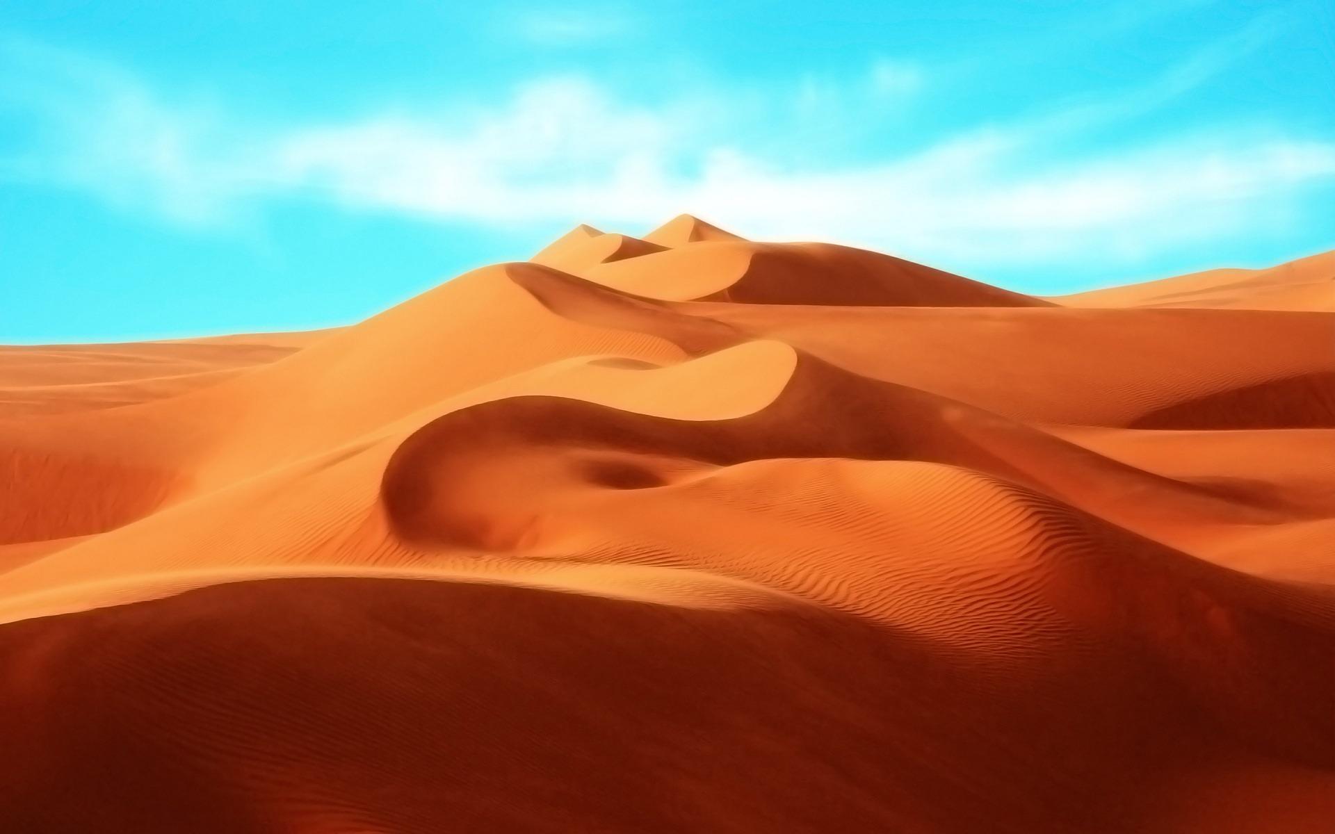 Пустыня, разрешение 1920x1200