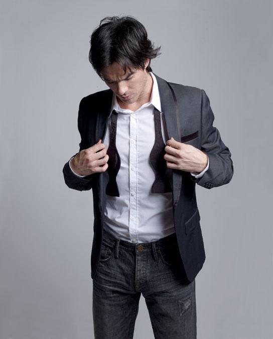 Йен Сомерхолдер (Ian Somerhalder) фотосессия